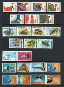 DOMINICA MNH 1976 SELECTION (2 SCANS)