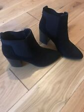 office black ankle boots size 4