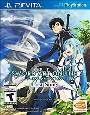 Sword Art Online: Lost Song (Sony PlayStation PS Vita, 2015) PSV NEW