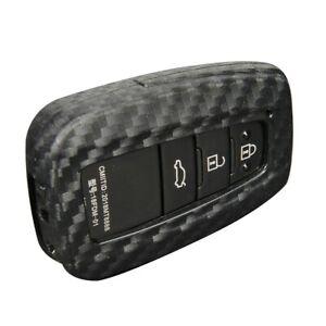 Kohlefaser Auto Smart Key Case Abdeckung Für Toyota Camry/C-HR/RAV4/Avalon
