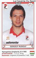 GERGELY RUDOLF HUNGARY AS.BARI RARE UPDATE STICKER CALCIATORI 2011 PANINI