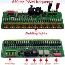 30CHANNEL/27CH EASY DMX LED RGB controller DMX Decoder&driver RGB led controller