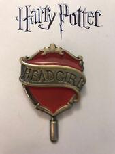 Hogwarts Headgirl Pin, Gryffindor House Universal, Wizarding World Harry Potter