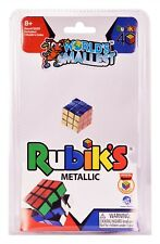 World's Smallest 40th Anniversary RUBIK'S  Metallic Cube Miniature Edition