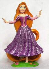 Disney Store RAPUNZEL Princess TANGLED Sparkle FIGURINE Cake TOPPER Toy NEW