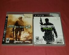 Call of Duty: Modern Warfare 2 & 3 Complete PlayStation PS3 Game Lot COD MW2 MW3