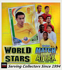 Factory Case of 2010 Topps Match Attax World Stars Trading Cards(24pks x12 box)