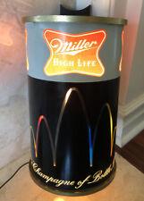 Rare Vintage Miller High Life Beer Motion Bouncing Ball Light Sign Hamms