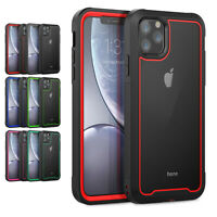 For Apple iPhone 11 Pro Max Heavy Duty Shockproof Hybrid Impact Armor Case Cover