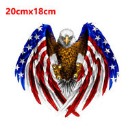 Bald Eagle USA American Flag Sticker Car Truck Laptop Window Decal Accessories