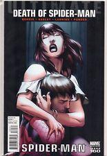 Ultimate SPIDER-MAN #160 Mark Bagley VARIANT Death of Peter Parker 2011