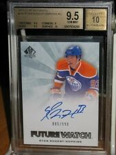 RYAN NUGENT-HOPKINS 2011-12 UD SP Authentic Rookie Card Beckett Graded 9.5 /10