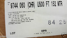 Belden Wire 9744 222p Twist Pair Audiosoundcontrolinstrument Cable Cmg100ft