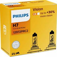 Philips H7 12V 55W PX26d Vision bis zu mehr Licht +30% 2st. 12972PRC2