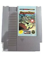 BreakThru - Data East - Break Thru ORIGINAL NINTENDO NES GAME Tested WORKING