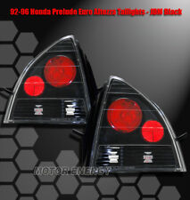 92-96 HONDA PRELUDE ALTEZZA TAIL LIGHTS BLACK 93 94 95