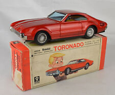 "Bandai #4209 Oldsmobile Toronado Battery Operated 8 1/8"" Long Near Mint W/Box"