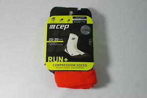 CEP Sportswear Dynamic+ Short Socks Size III Womens Medium Red/Pink