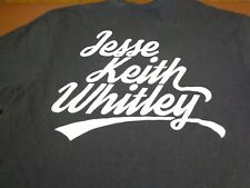 Jesse  Keith Whitley T Shirt Vintage Country Concert  Tee  Large Black    W9
