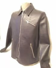 Versace Leather Jacket ~ New With Tags ~ Men's Size Euro 54 or US 44