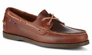 Sebago Docksides Moccasin Men's Deck Shoes 70000G0/925 Brown Gum NEW