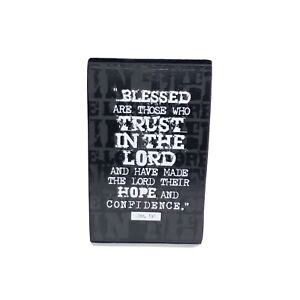 """Lighthouse Christian Products Hope In The Lord Scripture 3""""x5""""  Plaque JER. 17:7"""