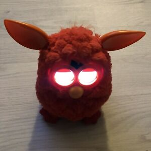 Furby Boom Red & Orange Interactive Electronic Pet Hasbro 2012 Fully Working
