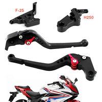 Black Long Clutch Brake Lever For Honda CBR500R 13-15 CBR300RR CB300F 14-16
