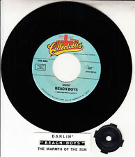 "THE BEACH BOYS Darlin' & The Warmth Of The Sun 7"" 45 record + juke box strip NEW"