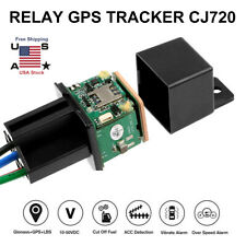GPS Car Tracker Real Time Device Locator Remote Control Anti-theft Hidden SPY
