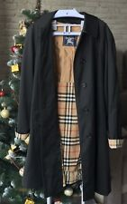 Vintage Burberry Trench Coat with Detachable Wool Liner