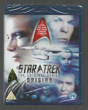 STAR TREK ORIGINS - (5 episodes from ORIGINAL SERIES) - sealed/new - UK BLU-RAY