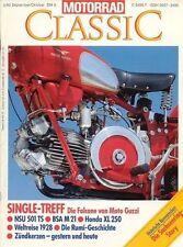 MC9305 + Sachsenring-Historie + RUMI-Geschichte + MOTORRAD CLASSIC 5 1993
