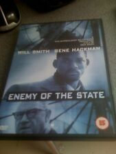 WILL SMITH GENE hackamn Enemy of the State 1998 Tony Scott Acción SUSPENSE dvd