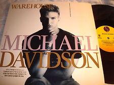 MICHAEL DAVISON-WAREHOUSE 4 MIXES-SIRE 0-21288 NM/VG+ 12''