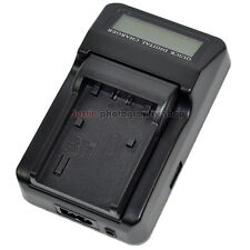 LCD Battery Charger for Sony NP-FP50 NP-FP70 NP-FP90 NP-FV100 NP-FV70 NP-FH100