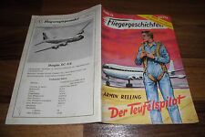 FLIEGERGESCHICHTEN  # 33 -- der TEUFELSPILOT //  Moewig 1954