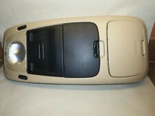 FORD EXPLORER MERCURY MOUNTAINEER 02-05 FRONT OVERHEAD CONSOLE MAP LIGHT STORAGE