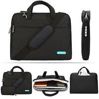 """15.6"""" Zipper Laptop Shoulder Bag Business Messenger Handbag Briefcase for Dell"""