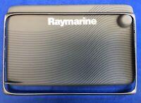 Raymarine c125 c127 e125 e127 Suncover Screen Sun Cover & Gunmetal Trim Bezel