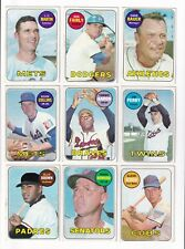 *1969 Topps 2nd Series Baseball PICK LOT-YOU Pick any 1 of 10 cards for $1!*