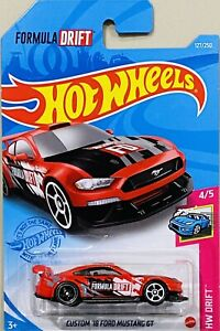 Hot Wheels Custom '18 Ford Mustang Red 2021 New Release M Box