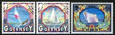 Guernsey 2000, Boats, Ships set VF MNH, Mi 855-857 cat 12€