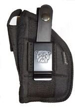 Bulldog hand Gun holster For S&W M&P SHIELD 9mm & 40 With Laser