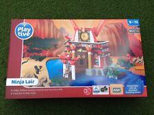 Ninja Lair Building Brick Block Set Lego Toys Children