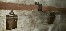 Antique Barn Door Hardware Rollers and 8' Track