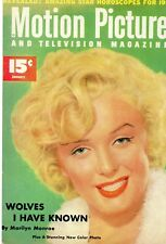 Marilyn Monroe  Postcards motion picture magazine February 1941