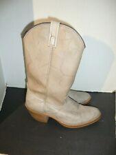 Vintage Dingo Mens Cowboy Western Boots Taupe 5904 Size 9 D