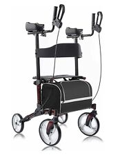 BEYOUR WALKER Upright Rollator Walker Euro Style Stand Up Walking Aid  NEW