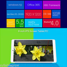 2GB/32GB BT Tablet PC Windows 10 & Android 5.1 QuadCore Teclast X80 Pro Tableta